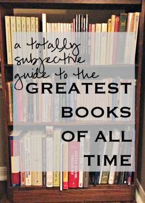 The Greatest Books of All Time